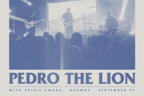 Pedro The Lion with Spirit Award