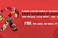 Rainier Summer Concert Series / Fun Ladies, The Emilys & PIT
