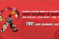 Rainier Summer Concert Series / Lavoy, Headwaves & CATE