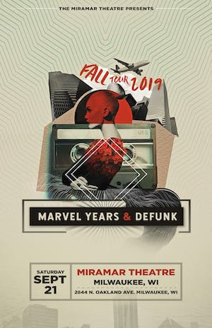 Marvel Years & Defunk Fall Tour 2019