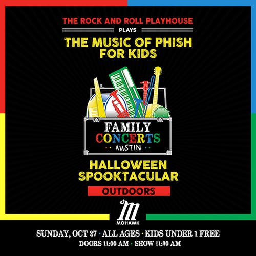 The Music of Phish for Kids Halloween Spooktacular @ Mohawk