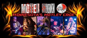 "Motel Sixx a ""Mötley Crüe Tribute Band"""