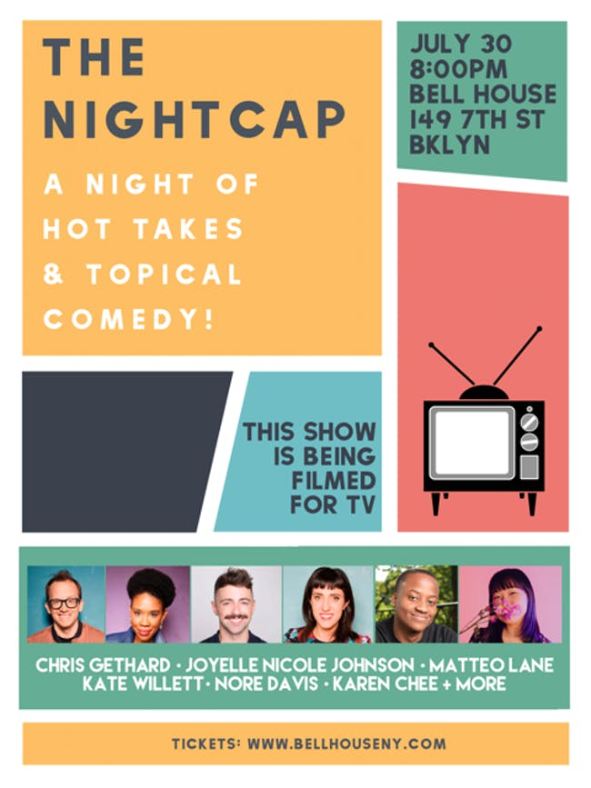 Art & Industry presents The Nightcap