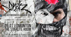 Snak The Ripper's 'Greasy Business Canada Tour'