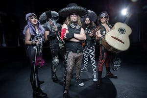 Metalachi with Leather Serpent and Danziggy Stardust!