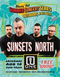 Free Outdoor Concert with Sunsets North