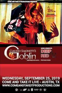 CLAUDIO SIMONETTI'S GOBLIN: Performing Deep Red / Profondo Rosso
