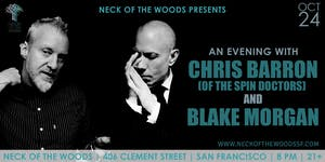 An Evening with Chris Barron (of Spin Doctors) and Blake Morgan