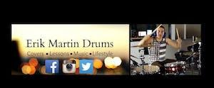 Erik Martin Drums Student Showcase