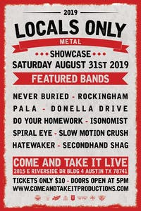 LOCALS ONLY: Metal Showcase