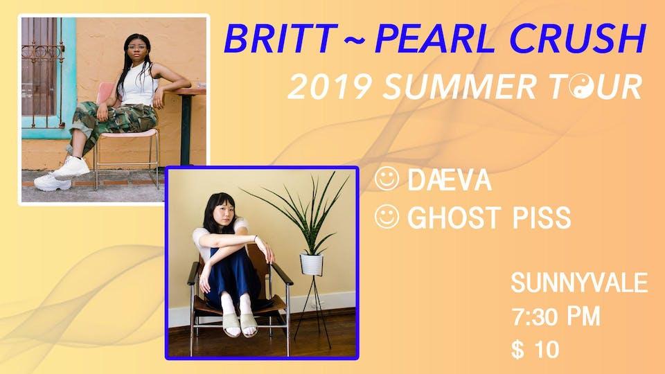 Pearl Crush,  Britt, Melodie Stancato , & Daeva
