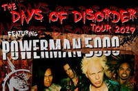 POWERMAN 5000: The Days of Disorder Tour | w/ (HED) PE + Adema and more