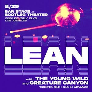 LEAN with The Young Wild