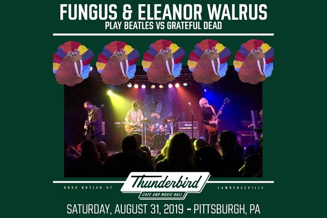 Eleanor Walrus & Fungus play Beatles vs The Grateful Dead
