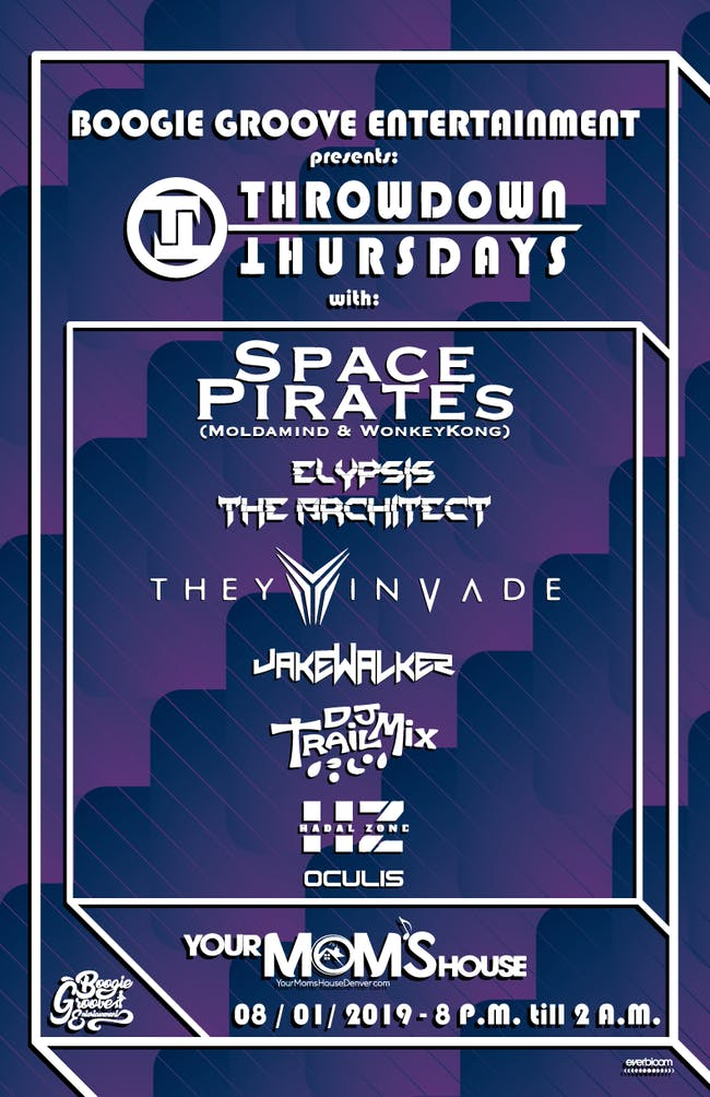 Space Pirates // Elypsis the Architect // Jake Walker // DJ Trail Mix