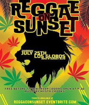 Reggae Thursdays - The Summer Series  | Reggae on Sunset