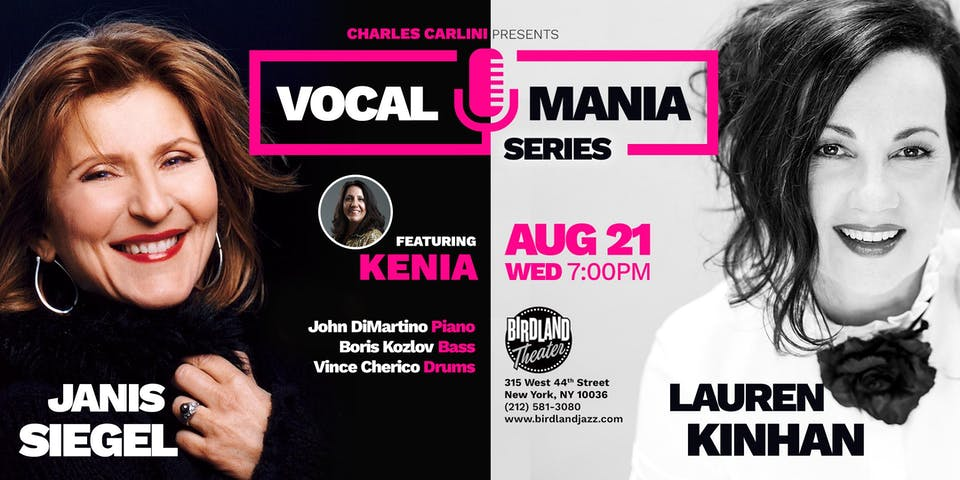 Jazz Vocal Mania Series Featuring: KENIA
