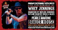 The Grandson Of Waylon Jennings,  Whey Jennings w/ Pearls Mahone