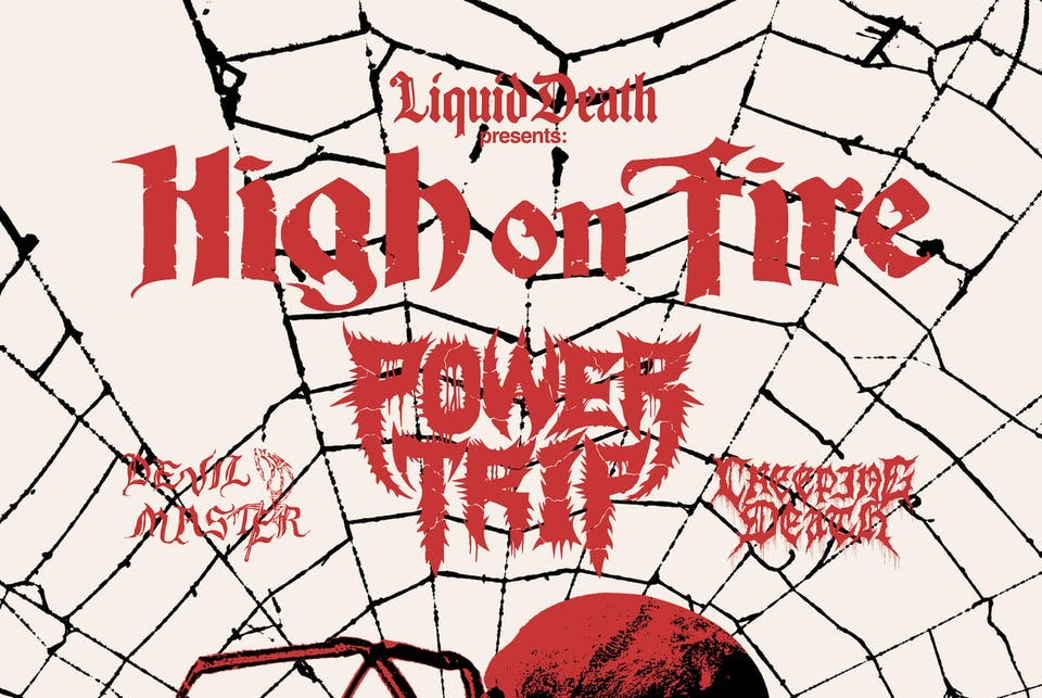 High On Fire + Power Trip with Devil Master + Creeping Death