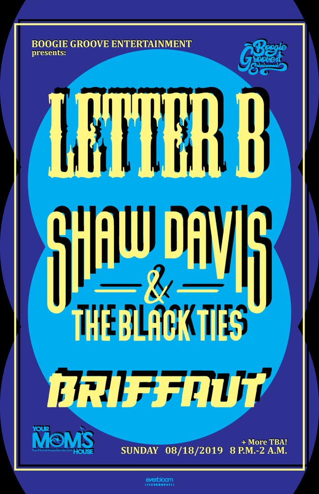 Letter B // Shaw Davis & The Black Ties // Briffaut