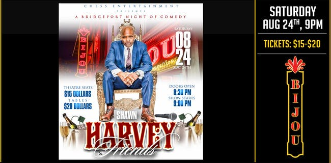 A Bridgeport Night of Comedy - Shawn Harvey & Friends