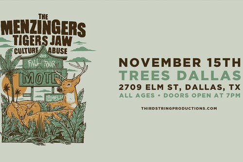 The Menzingers – Fall Tour 2019 at Trees in Dallas