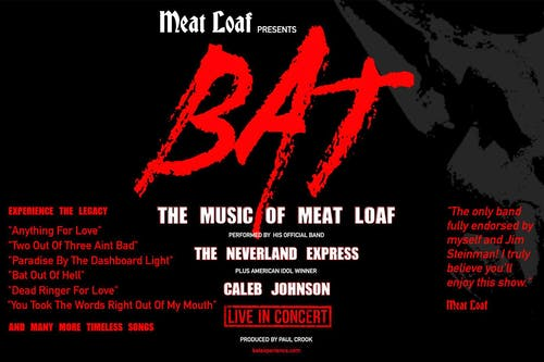 """Meat Loaf Presents:  """"BAT: The Greatest Hits of Meat Loaf"""""""