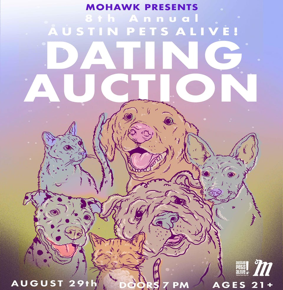 8th Annual APA! Dating Auction @ Mohawk (Indoor)