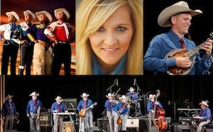 Riders in The Sky, Bob Wills Texas Playboys with Jason Roberts, Teea Goans