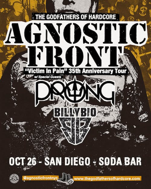 AGNOSTIC FRONT, Prong, Slow Decay