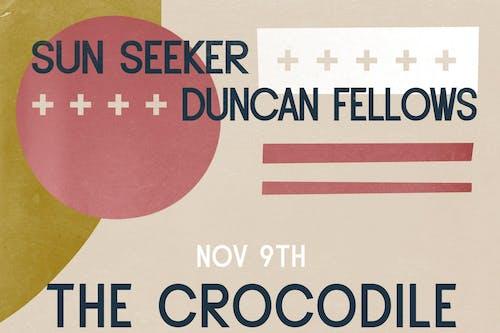 Sun Seeker / Duncan Fellows  @ The Back Bar