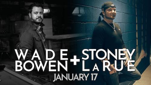 MOVED TO REVOLUTION HALL: Stoney LaRue / Wade Bowen
