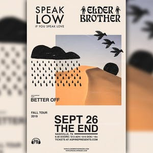 Elder Brother, Speak Low