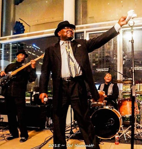 """Gregg A. Smith and The Blues Revue Band with Matt """"Guitar"""" Giles Band"""