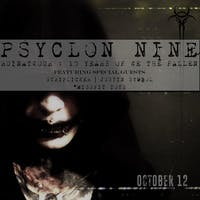 Psyclon Nine: Ruinatwour 10 year anniversary tour