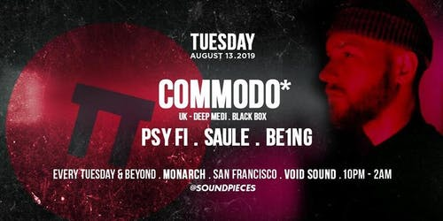 Commodo (UK) — Soundpieces SF