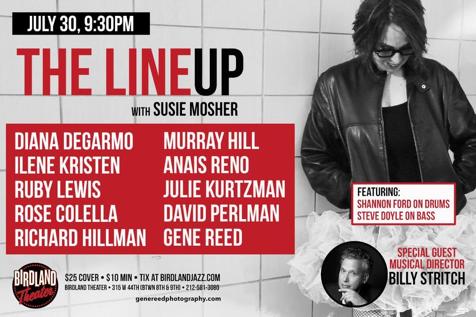 The Lineup with Susie Mosher with Guest Musical Director Billy Stritch