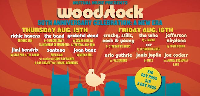 Nashville's 50th Anniversary Woodstock Celebration: A New Era