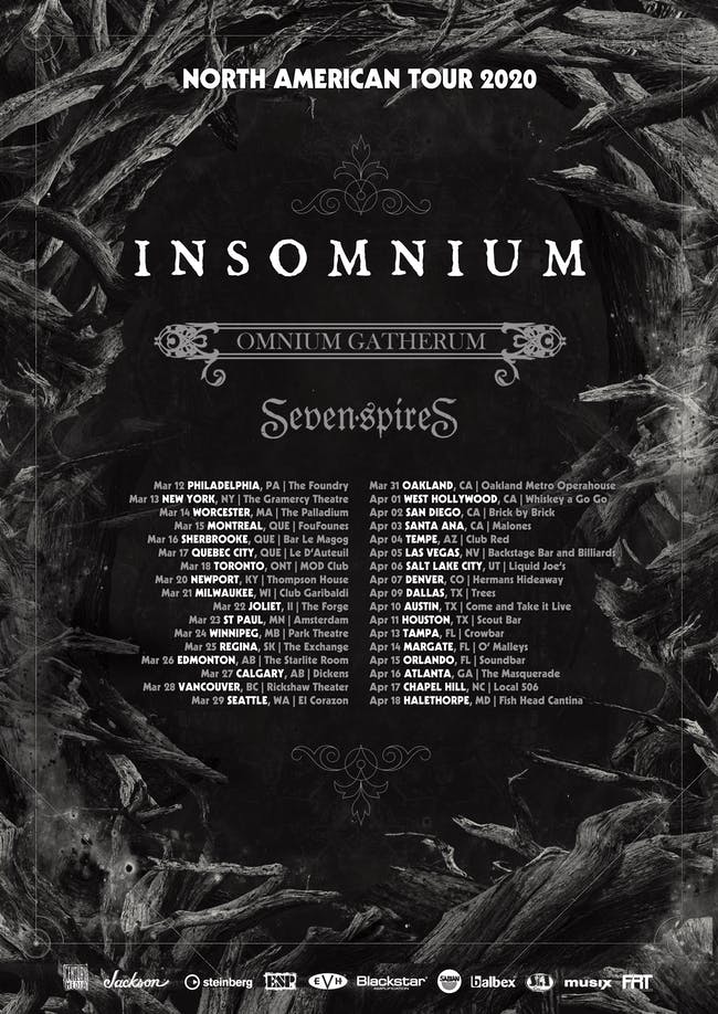 INSOMNIUM at the Park Theatre