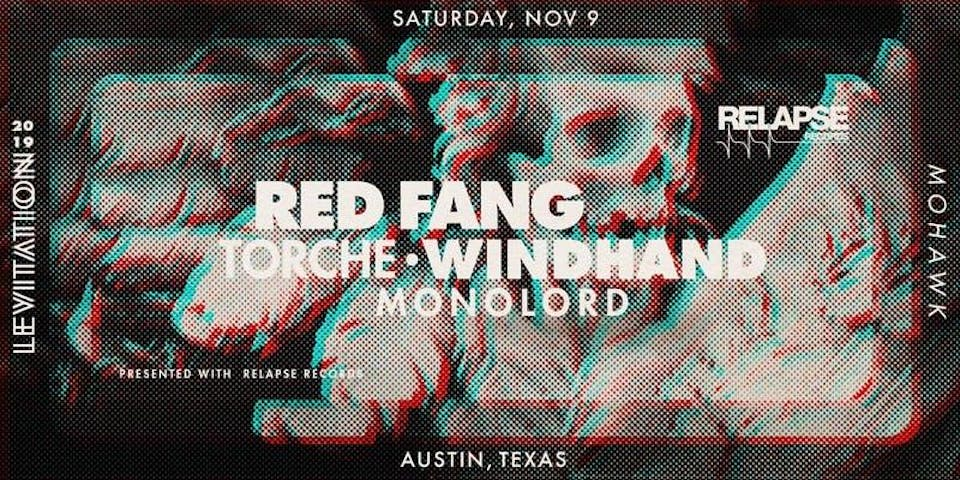 LEVITATION: RED FANG • TORCHE • WINDHAND @ Mohawk