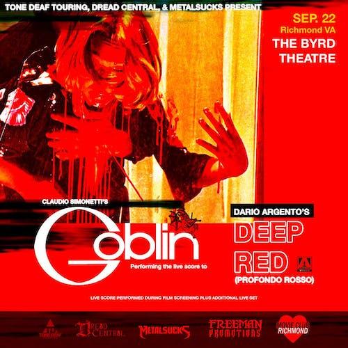 Claudio Simonetti's Goblin performing score to Deep Red/Profondo Rosso