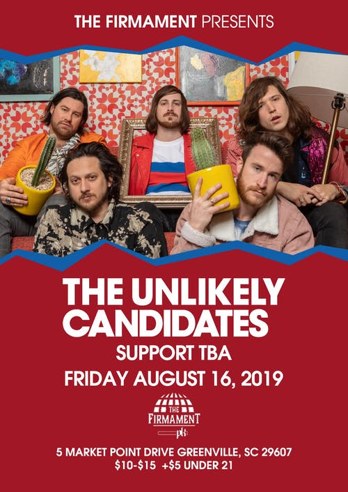 The Unlikely Candidates + Stereo Reform & Deion Reverie | 8.16.19