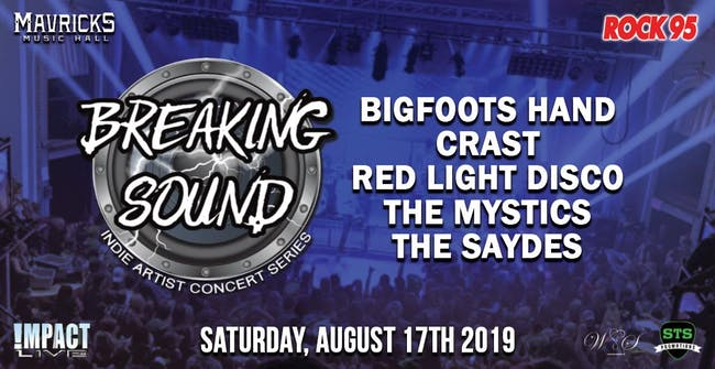 BREAKING SOUND Indie Concert Series Kick-Off Party