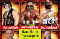 Sonar Comedy Roast Battle - Thursday September 26th, doors 7pm