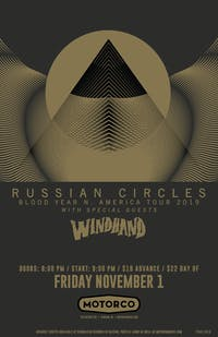 RUSSIAN CIRCLES / Windhand