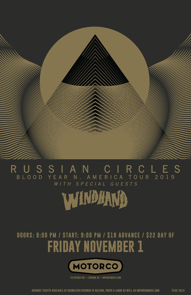 RUSSIAN CIRCLES / Windhand (SOLD OUT)