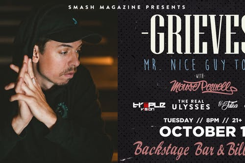 Grieves (Mr. Nice Guy Tour)