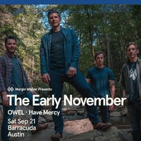 The Early November at Barracuda in ATX