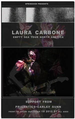 Laura Carbone - Empty Sea Tour