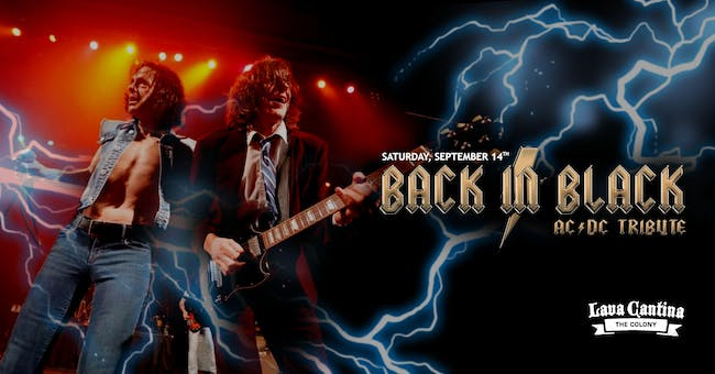 Back in Black [AC/DC Tribute] with First Sting [Scorpions Tribute]